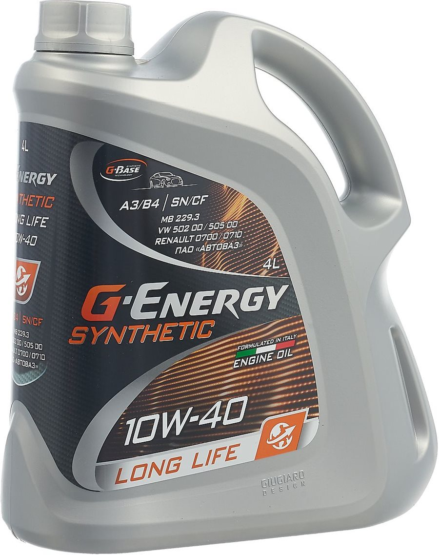 G-Energy Synthetic Long Life 10W-40 4л [Italy]